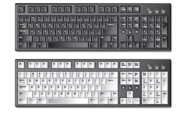 Exquisite keyboard - Free vector #176457