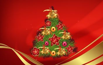Merry Christmas - vector gratuit #176847