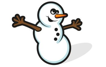 Free Snowman Vector - Free vector #176897