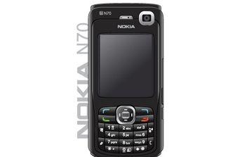 Nokia N70 Black Edition - Free vector #177217