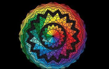 Geometric Design Vector - Free vector #177587