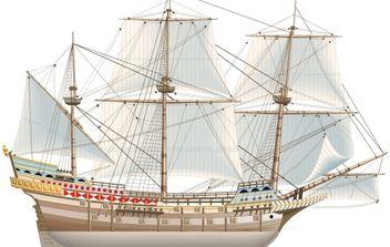 Spanish Galeon - Free vector #177667
