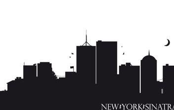 New York Sinatra - vector #177757 gratis