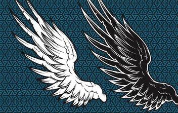 Wings Vector - Free vector #177767