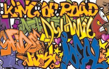 150 Graffiti vector symbols - Kostenloses vector #177837