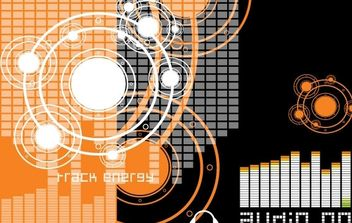 Vector Music Theme 1 - vector gratuit #177877