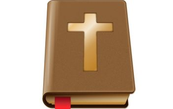 Brown Bible - vector gratuit #178057