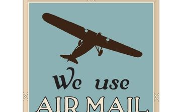 NixVex We Use Air Mail Free Vector - Free vector #178107