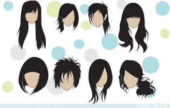 Hair Styles - Kostenloses vector #178367