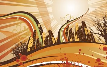 Sunrise - Free vector #178377