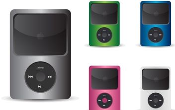 Free IPod Vector Icons - Free vector #178507