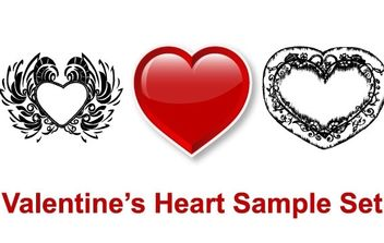 Valentine's Heart - Free vector #178517