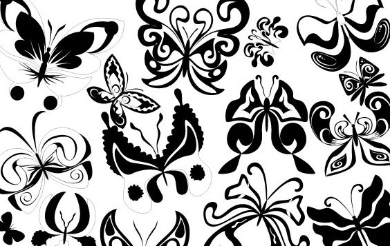 Vector Butterflies - Free vector #178567