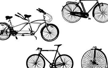 Vector Art: Bikes - Free vector #179007