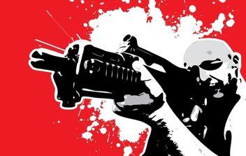 Gun Series - Free vector #179097