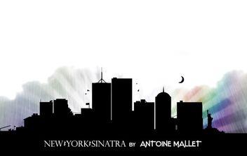 New York Sinatra - vector #179247 gratis
