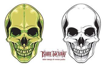 Free skull vector - Free vector #179347