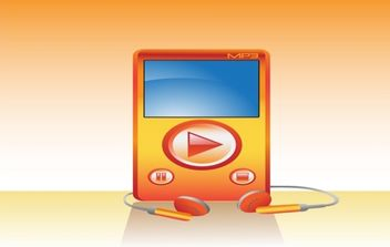 Mp3 Player - vector gratuit #179437