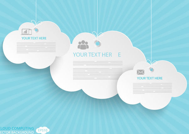 Communication Cloud Computing Concept - Kostenloses vector #179947