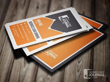 Vertical Marketing Business Card - Free vector #180037