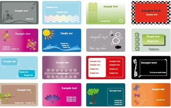 My Business card - vector gratuit #180307