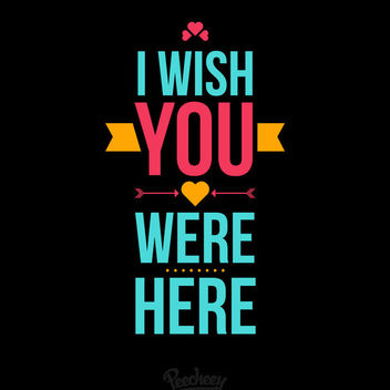 Wish & Greeting Message Typography - vector #180367 gratis