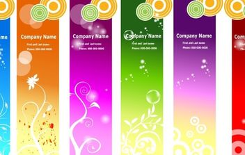 Ads banners - Free vector #181237