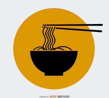 Noodles Logo Design - vector gratuit #181367