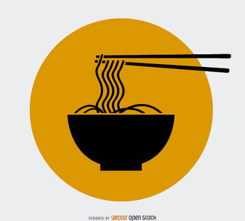 Noodles Logo Design - Free vector #181367
