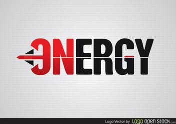 Energy Arrow Logo - vector #181477 gratis
