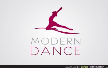 Modern Dance Logo - Kostenloses vector #181487
