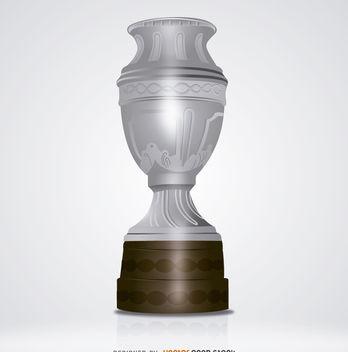 Big silver trophy - vector gratuit #181967