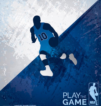 Basketball grunge design - Free vector #182297