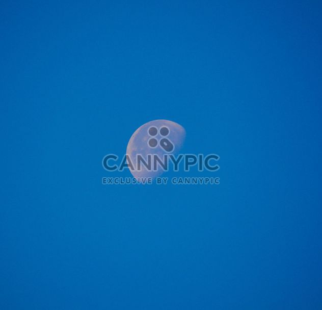 Moon in blue sky - Free image #182787