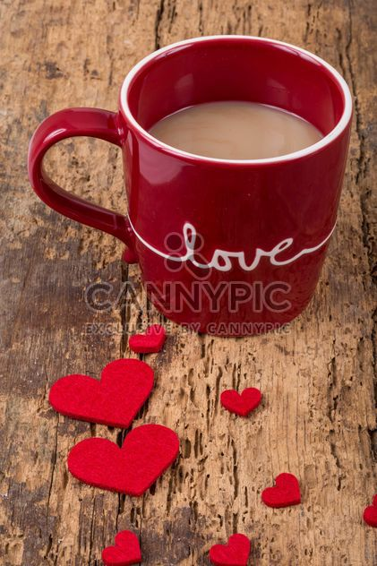 Кофе Кубок и сердца - Free image #183007