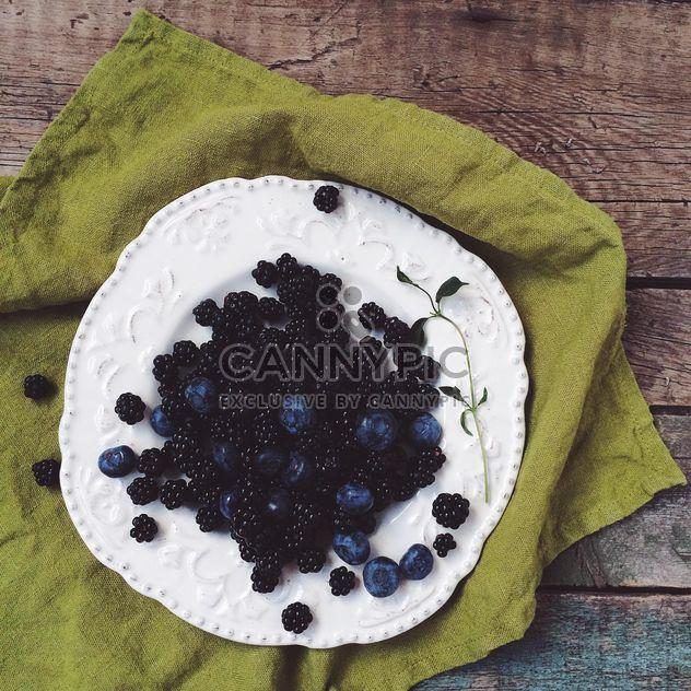 Amoras e bluberries - Free image #183277