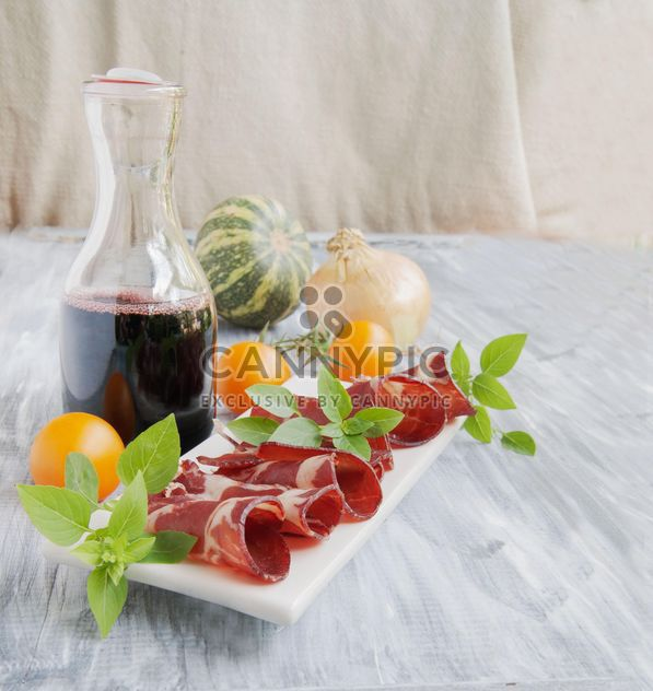 Cortes de carne fresca y carpaccio - image #183337 gratis