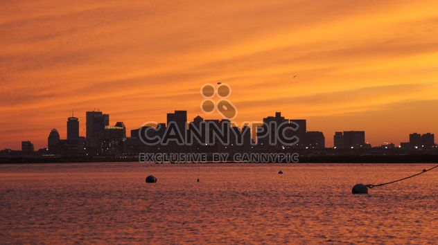 Sunset in the Boston City - Free image #183357
