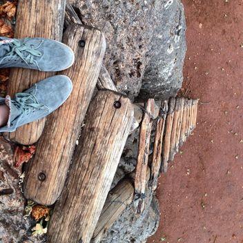 Wooden ledder - Free image #183377
