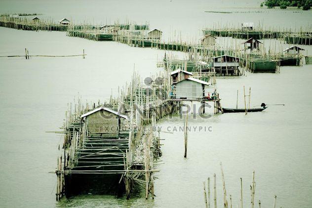 Fisherboats no cais - Free image #183417