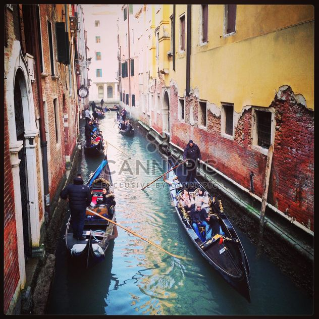 Venezian gandoles - Free image #183587