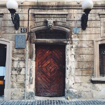 Wooden doors. Lviv. Ukraine - бесплатный image #183697