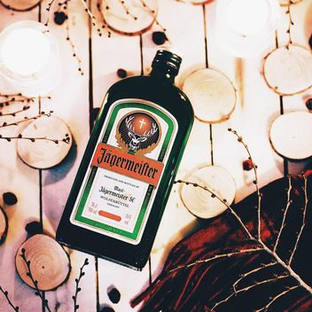 Jagermeister bottle still life - бесплатный image #183757