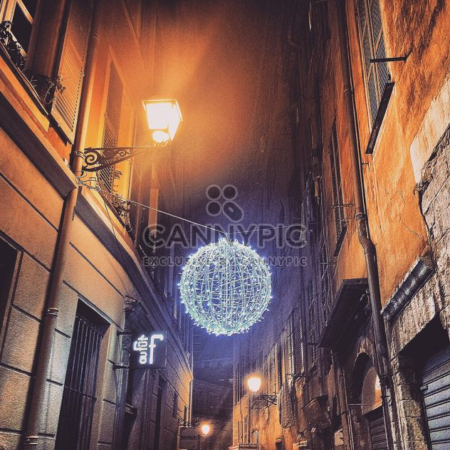 Streets in christmas decoration - Free image #184327