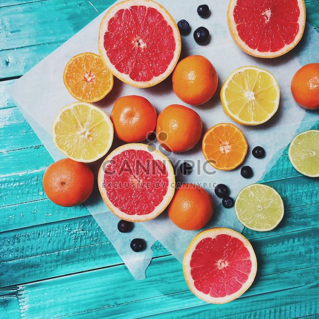 Lobules Of Grapefruit - Free image #184447