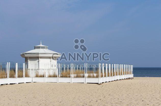 Gazebo on the beach - Free image #184627