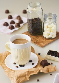 Homemade candies and coffee - image gratuit #185847