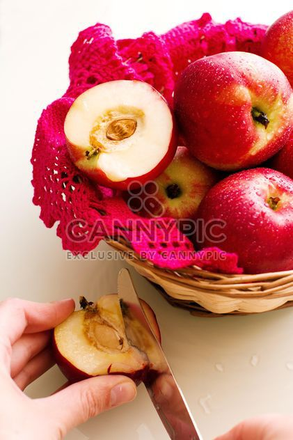 apples in basket - Free image #185857