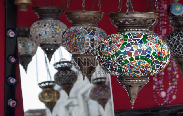 colorful handmade lamp - Free image #185937