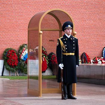 Guard in Alexander Garden - Free image #186217